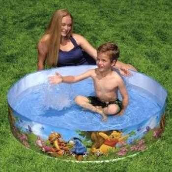 Intex 58475, каркасний дитячий басейн ВінНі Пух