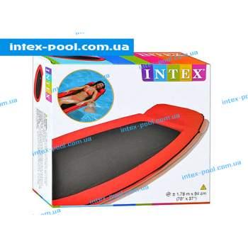 Intex 58836-K, надувной матрас для плавания, красный сетчатый