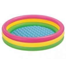 Intex 57422, надувной детский бассейн Закат солнца