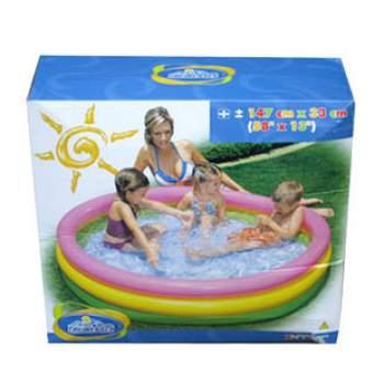 Intex 57422, надувний дитячий басейн Захід Сонця
