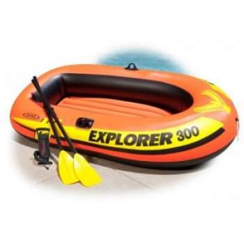 Intex 58332, надувная лодка Explorer 300 Set