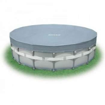 Intex 28040, тент для каркасного бассейна, Д488см