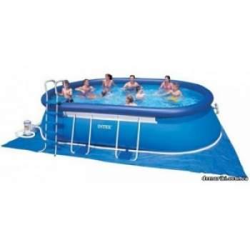 Intex 28194, надувний басейн Oval Frame Pool