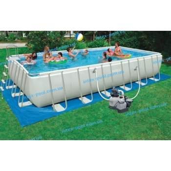 Intex 28364, каркасний басейн 732 x 366 x 132 см Ultra Frame Pool