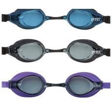 Intex 55691-E, детские очки для плавания, серые