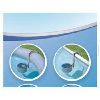 Bestway 58237, набором для чищення басейну зі скіммером