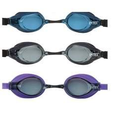 Intex 55691-F, детские очки для плавания, фиолетовые