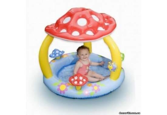 """Intex 57407, надувний дитячий басейн """"Мухомор"""""""