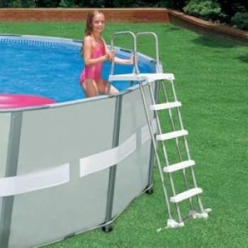 Intex 58971, сходи для басейну, 122 - 132см (Intex 28074)
