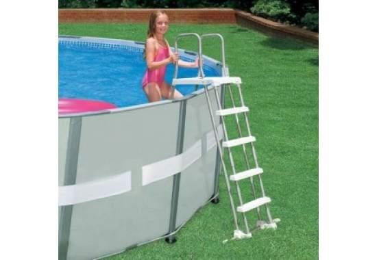 Intex 58971, лестница для бассейна, 122-132см (Intex 28074)