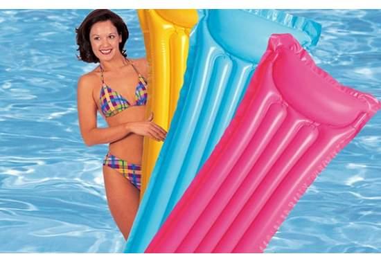 Intex 59703, надувной матрас для плавания