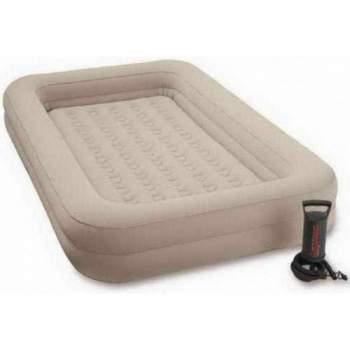 Intex 66810, надувне ліжко 168 x 107 x 25 см дитяче з бортиками і матрацом