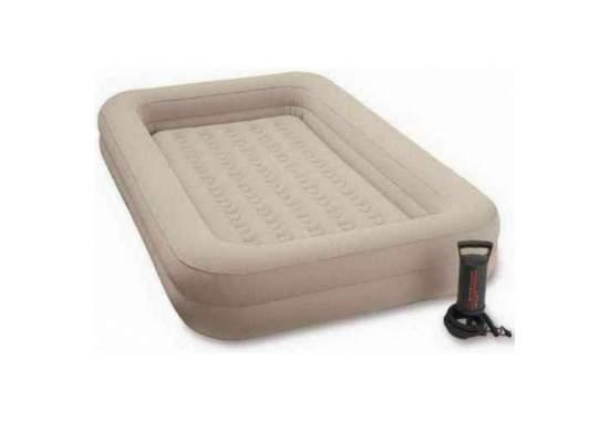 Intex 66810, надувная кровать 168 x 107 x 25 см детская с бортиками и матрасом