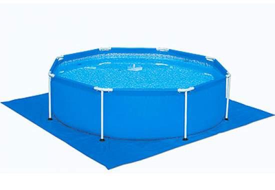 Bestway 58001, підстилка для басейнів квадратна, 70 г / м2, 335х335см