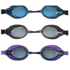 Intex 55691-S, детские очки для плавания, синие