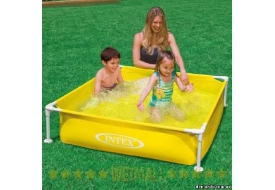 Intex 57171, каркасный бассейн 122 x 122 x 30 см Small Frame