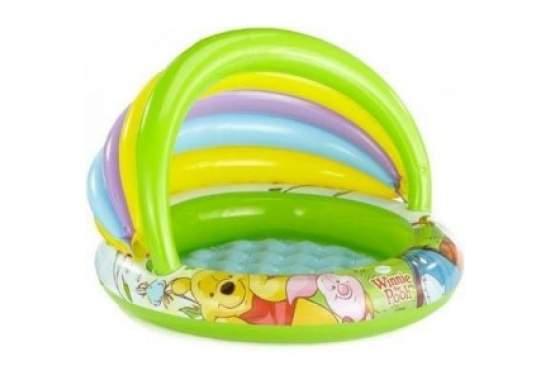 Intex 57424, надувной детский бассейн Радуга Disney