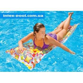 Intex 59711, надувний матрац для плавання