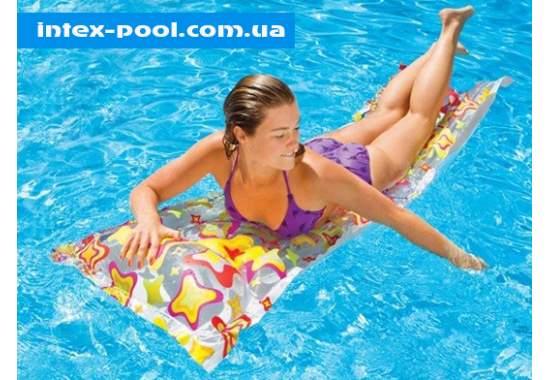 Intex 59711, надувной матрас для плавания