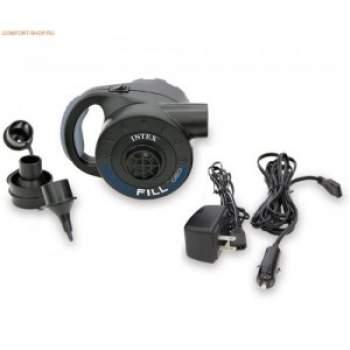 Intex 66622, аккумуляторный насос, заряд 220/12 V, 600л/мин