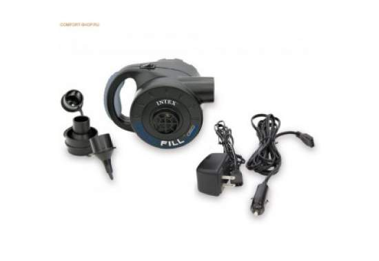 Intex 66622, акумуляторний насос, заряд 220/12 V, 600л / хв