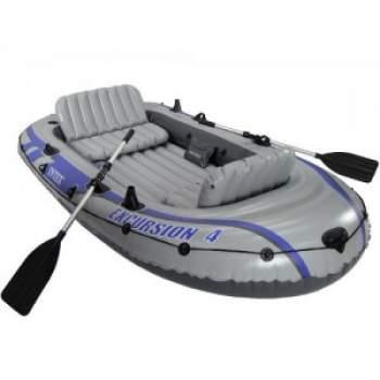 Intex 68324, надувная лодка EXCURSION 4 Set