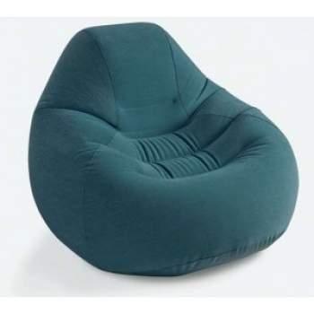 Intex 68583, надувное кресло 109 x 218 x 66 см, зеленое